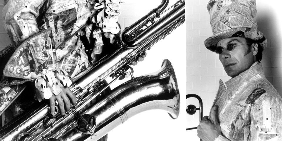 1993 - Édition Spéciale | funky-jazzballade | Univers loufoque de silhouettes de papier