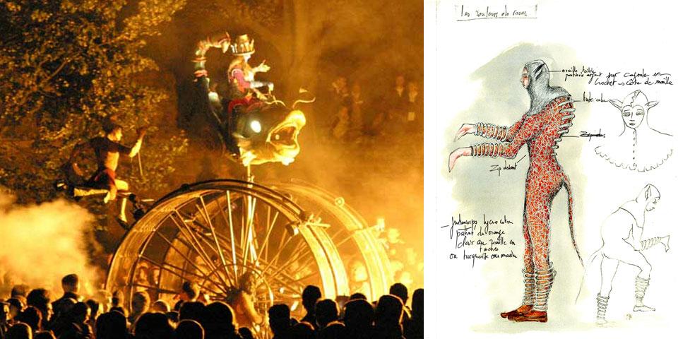 2002 - Les Rois Faignants | mis en scène par Gilles Rhodes & Brigitte Bertin