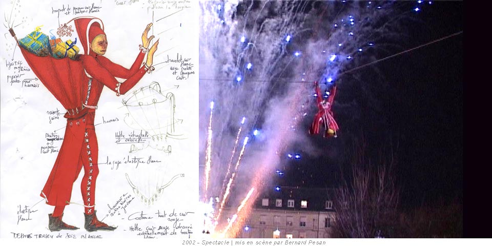 2002 - Spectacle Père Noël | mis en scène par Bernard Pesan